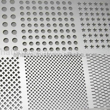Perforated Sheets and Steel Mesh