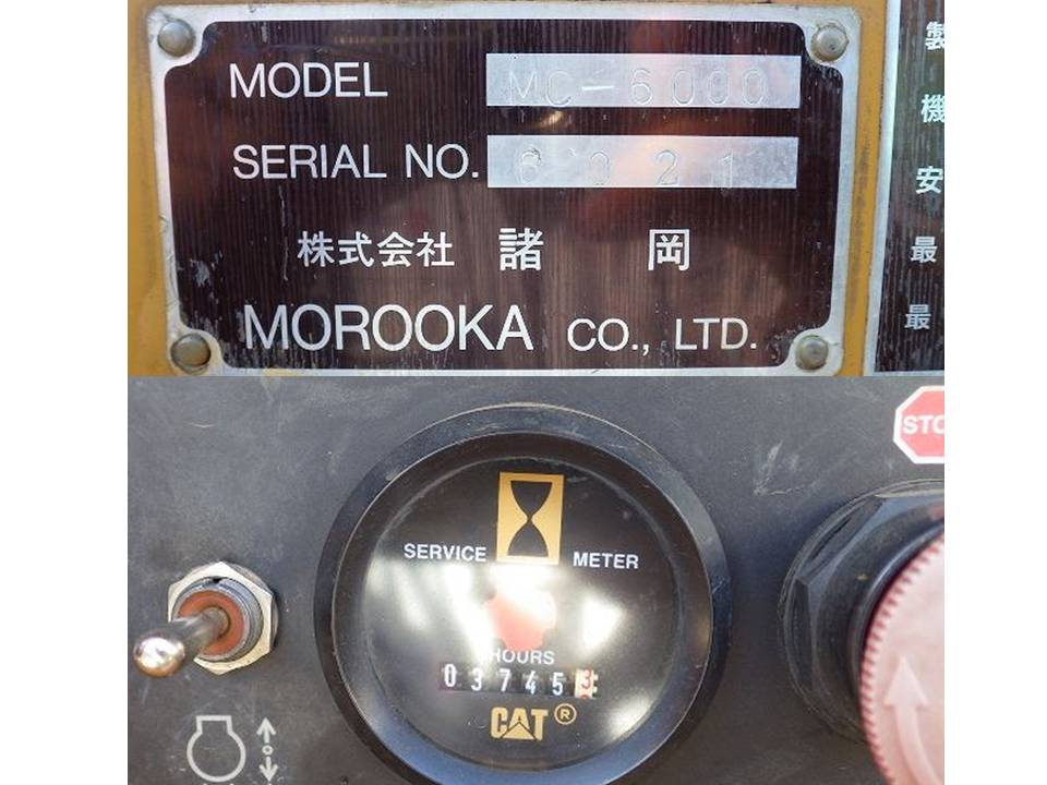 < SOLD OUT>Used Mobile Wood Tub Grinder Morooka MC-6000 From Japan