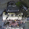 NISSAN GA15 - FF 5SP 16V CARB USED JAPANESE ENGINE JDM