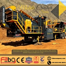 FABO PRO-90 NEW GENERATION MOBILE CRUSHER&SCREENING PLANT