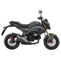 2017 MSX 125 SF Black-Gray Colour Cheap Motorcycle made in Thailand