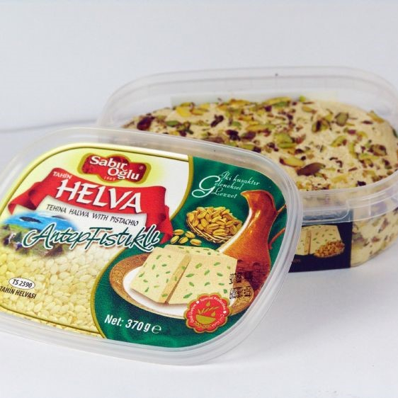 Turkish Tahina Halva