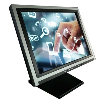 Original 15inch 1024*768 4/5wire resistive touch monitor cheap touch screen monitor