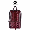 Ethnic Backpack 100% Genuine Leather Bag WARNATASKU for Unisex WT180301