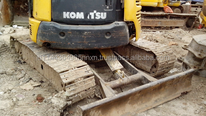 Good condition KOMATSU PC55MR-2 used excavator used excavator hong kong hot sell