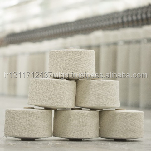 Ne 8/1 Regenerated Cotton Acrylic Polyester Blended Yarn for Tricot and knitwear