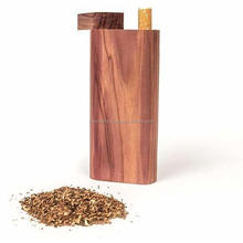 Beautiful Handmade Smoking Wooden Cigarette Dugout With Bat