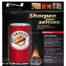 Energy Drink - Hot Dragon - 250 ml with Taurine