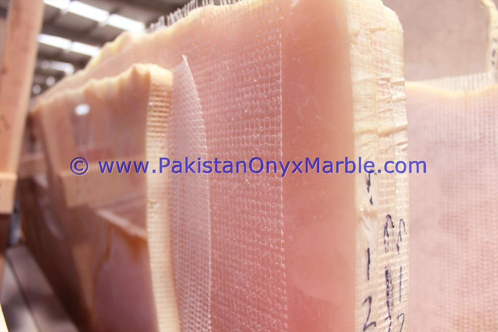 Hot sale good quality AFGHAN PINK ONYX SLABS COLLECTION