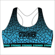 custom elastic sports bra women Active wear Gym Clothing Apparel Ladies Sportswear