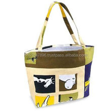 PRINTED CANVAS BAGS WITH PRINTED HANDLES