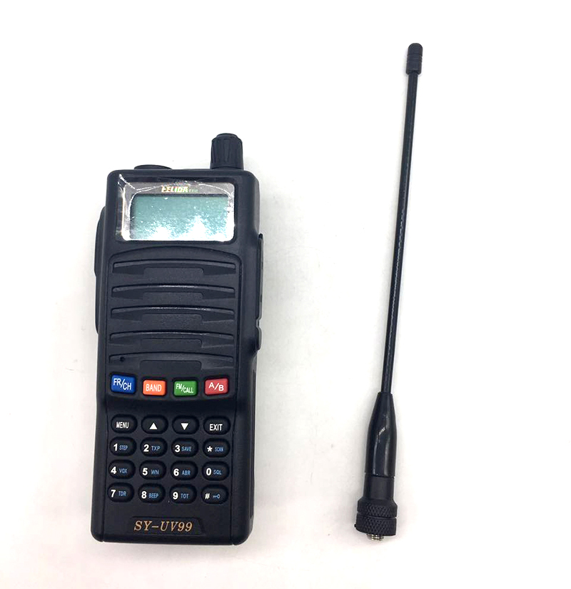 SYY-UV99 two way radio 100 mile walkie talkie mobile phone with walkie talkie