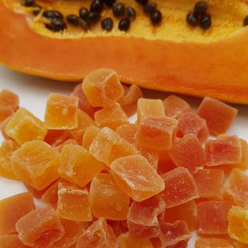 Dehydrated Papaya Dices, Chunks and Spears