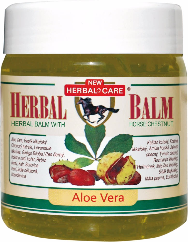 Herbal balm with chestnut - Aloe Vera 500 ML