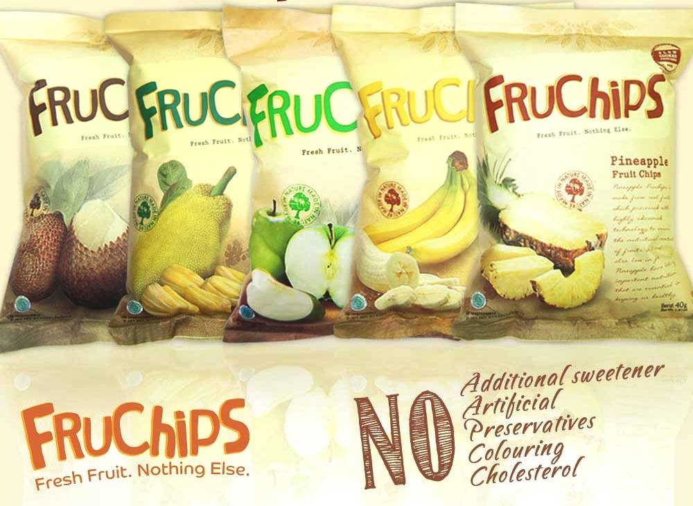 Healthy Snack FRUCHIPS Fruit Chips Organic Fruit GPM005