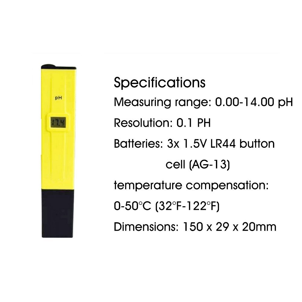 Hot selling PH-009 Digital Portable 0.1 resolution pH meter