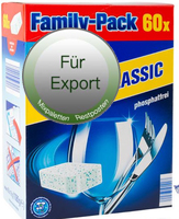 dishwasher tabs / Cleaner Reiniger / Export / Euro 1/ Products from germany
