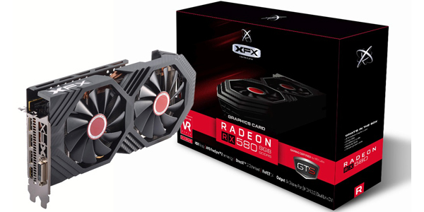 XFX GTS XXX Edition RX 580 8GB OC 1386Mhz DDR5 3xDP HDMI DVI Graphic Cards