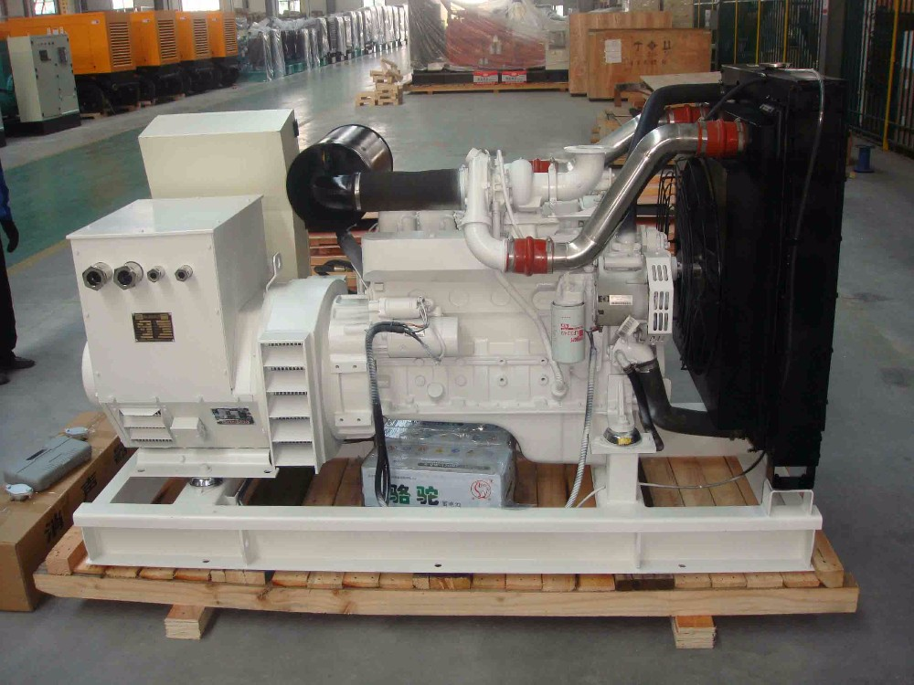 Factory Audit !! CSCPower 90KW Diesel Marine Generator Sets with cummins engine Authorized China Supplier !!