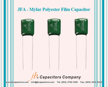 JFA Dipped Type Mylar Polyester Film Capacitor