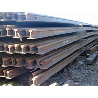 HMS 1 2 Scrap/HMS 1&2, Used Railway Track in Bulk Used Rail Steel Scrap