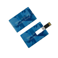 Promotional Gift Credit Card USB with Free Logo USB Flash Drive