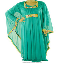 Jilbab Jalabiya Dress hand Embroidery Baju kurung Kaftan At Best Market Rate Caftan dress Long sleeve dress Oversized maxi