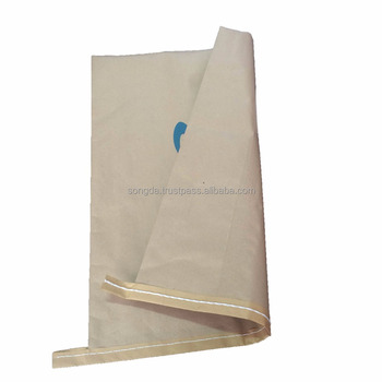 Bottom sealed PP woven composite Kraft paper bag