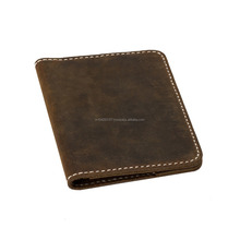 Crazy horse leather wallet made in india