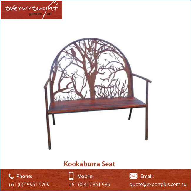 Kookaburra Seat Decorative Garden Furniture