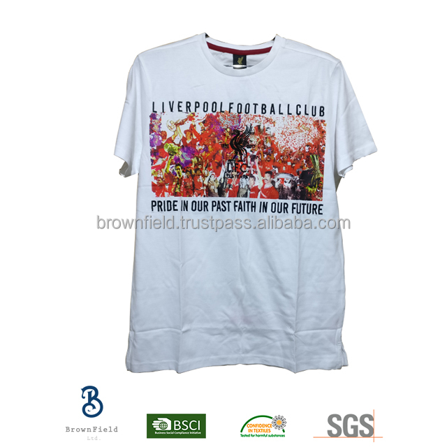 Bangladesh T-shirt Manufacturer Guangzhou USA Maxico Custom Design Logo No Label Advertising Soccer Personalized Cotton T-shirt