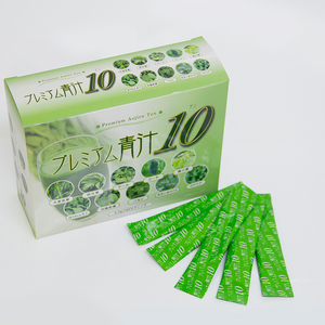 Wholesale import soft drinks green juice, instant soft drink powder from Japan