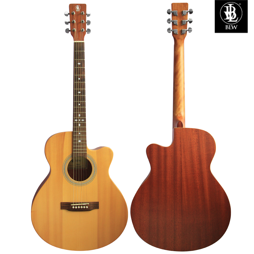 Solid Spruce Acoustic Guitar - BLW AM4085