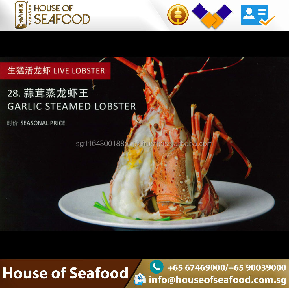 Best selling Seafood Ready to Eat Garlic Steamed Lobster