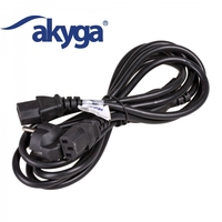 Akyga Y-shape splitter AC Power Cable 1.8m AK-PC-04A