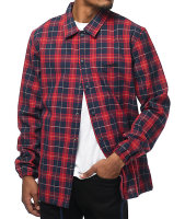 High quality custom printed Checked Coach jackets Latest Designs