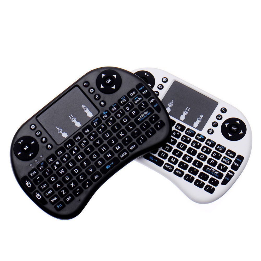 Mini i8 Wireless Keyboard 2.4G with Built in Touchpad Air Mouse