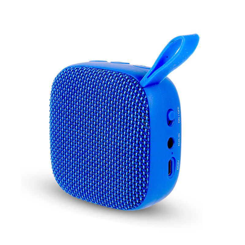 Outdoor blue-tooth peaker Stereo FM radio <strong>Portable</strong>, Fabric Art Square Mini Wireless Speaker