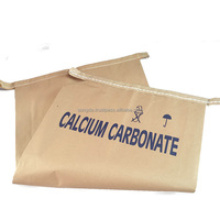 Moisture resistant calcium carbonate packing chemical kraft paper bag