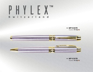 High Quality Luxury Silver Gold Customized Corporate Twist Ball Pen