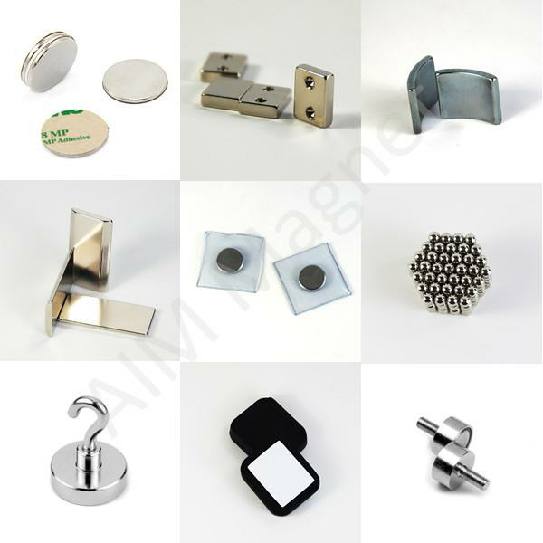 M5 screw neodymium magnet pot