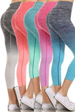 USA and Europe High Standard Good Quality 2016 New Ombre Yoga Athletic Workout Fintess