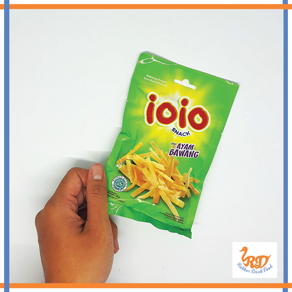 Promotional Dried Snack IOIO Chicken Onion Ayam Bawang Flavour 100 % Halal