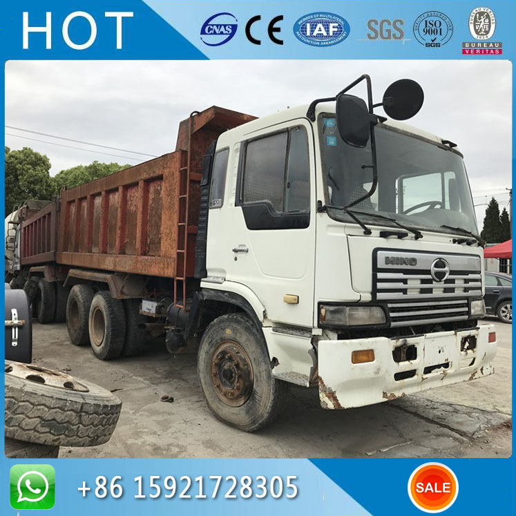 6X4 Import From Japan Original Used Hino Dump Truck For Sale