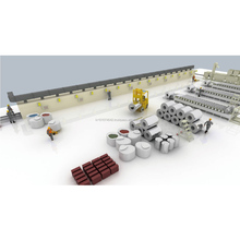 Famous brand high quality stone coated metal roof tile production line machine
