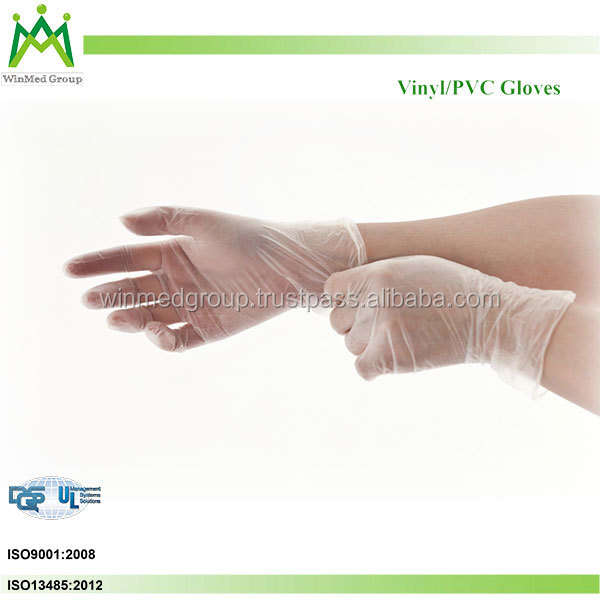 Disposable vinyl glove /dotted / coated gloves / pvc dot cotton gloves