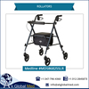 Medline MDS86825SLR Light Weight Rollator Walker