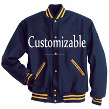 Sports jacket / Varsity Letterman jacket\Wool letter front logo varsity Jacket\Football\baseball Team USA
