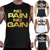 Muscle Men Athletic Bodybuilding Shirt Tank