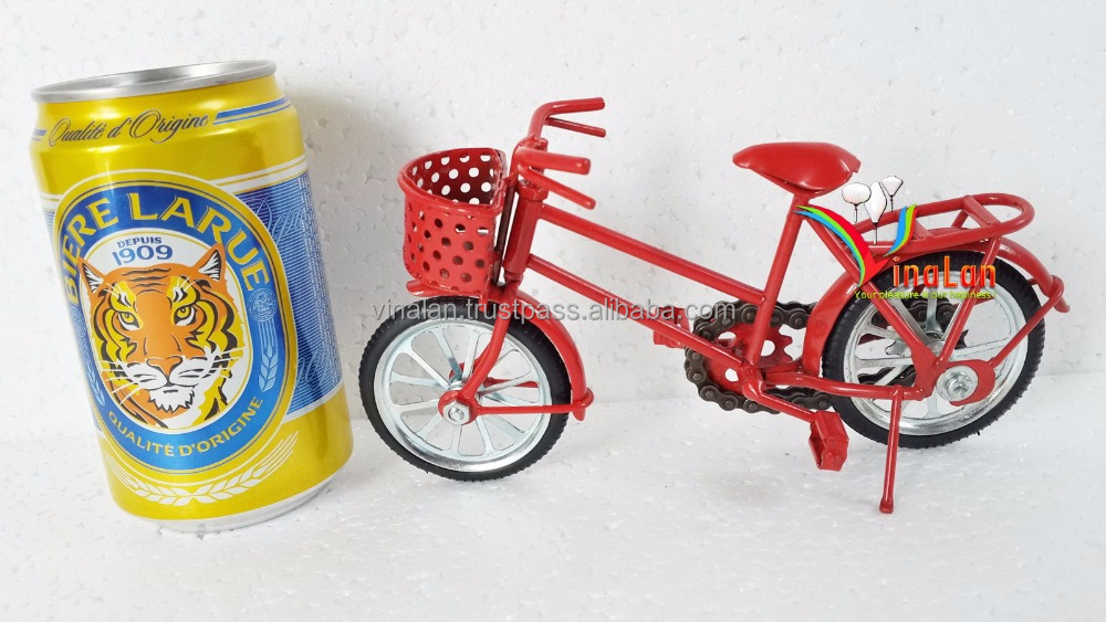 Miniture bicycle model by metal - Handmade gifts